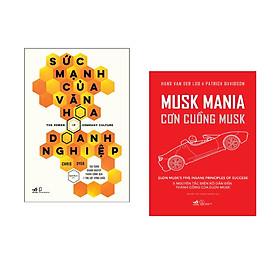 Combo 2 cuốn sách: Sức Mạnh Của Văn Hóa Doanh Nghiệp + Cơn cuồng Musk