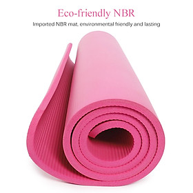72X24In Non-Slip Yoga Mat Eco-Friendly Fitness Pilates Gymnastics Mat Gift Storage Bag And Carry Sling-3