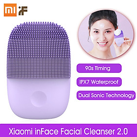 inFace Sonic Electric Beauty Face Deep Cleaning Machine Waterproof Facial Cleanser Cleansing Face Cleaner Skin Care
