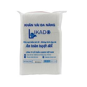 Bịch Khăn vải khô đa năng LIKADO 400g Mẫu Mới (15 x 20cm)