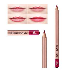 Chì Kẻ Viền Môi Vacosi Natural Studio Lipliner Pencil [Mẫu mới]