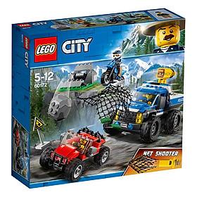 Cuộc Truy Đuổi Vượt Địa Hình LEGO City 60172 (297 Chi Tiết)