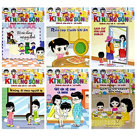 Bộ Sách Kỹ Năng Sống (Dành Cho Trẻ 4-10 Tuổi) - Bộ 6 Cuốn