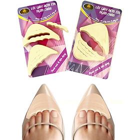 Lót mũi giày cao gót cao su non đệm êm ngón chân - buybox - BBPK50