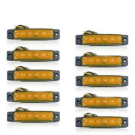 Đèn LED Báo Hiệu Tự Động Phía Sau Cho Xe Buýt, Tải (10 Cái x 6 LED)