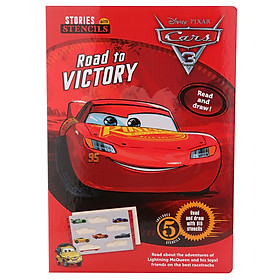 Disney Pixar Cars 3 - Road To Victory - Stories With Stencils