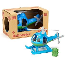 Đồ chơi máy bay trực thăng Green Toys cho bé từ 2 tuổi - Xanh dương