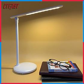 Đèn bàn học chống cận, chống lóa, đèn bàn học LED USB di động CTFAST 02 - Đèn đọc sách, đèn làm việc thông minh bảo vệ mắt, cảm ứng điều khiển, thiết kế xoay 180 độ chiếu sáng đa hướng