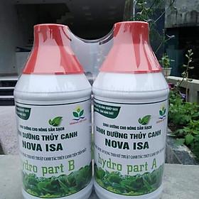 Dinh dưỡng trồng rau thủy canh Nova ISA
