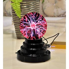 Quả cầu pháp sư ma thuật Plasma phóng tia sét sấm chớp hội tụ ngón tay sử dụng pin hoặc nguồn điện USB 5V