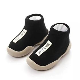 Giày Bún Cao Cổ Kiểu Dáng Hàn Quốc Cho Bé