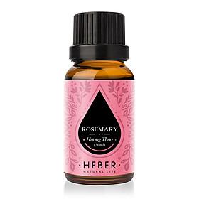 Tinh Dầu Hương Thảo Rosemary Essential Oil Heber | 100% Thiên Nhiên Nguyên Chất Cao Cấp