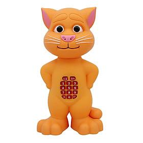 Đồ Chơi Mèo Cảm Ứng Có Nút Bấm Long Thủy Biết Kể Chuyện Và Nhại Giọng Nói LT07 (Ngẫu Nhiên)