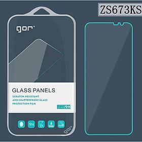 Bộ 2 Kính Cường Lực GOR cho Asus ROG Phone 5 , 5 Pro ( 2 Miếng ) trong suốt, siêu mượt _ Hàng Nhập Khẩu