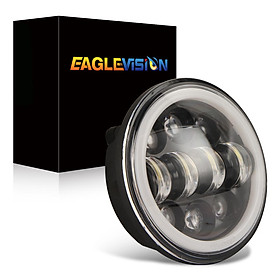 """Motorcycles headlight 5.75"""" Round LED Projection Headlight for Motorcycle"""