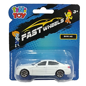 Đồ Chơi Xe Tốc Độ FastWheels 3 Inch - 342000S - BMW M5 - Màu Trắng