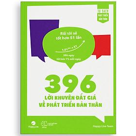 396 Lời Khuyên Đắt Giá Phát Triển Bản Thân – Rồi tôi sẽ tốt hơn 51 lần