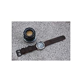 Dây đồng hồ DA BÒ THẬT Đủ size 18 - 24mm 【Tặng Kèm Khóa + Tool thay dây 】