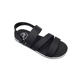 Giày Sandal 3 Quai Ngang Nam Everest - Eve01 D54 (Đen)