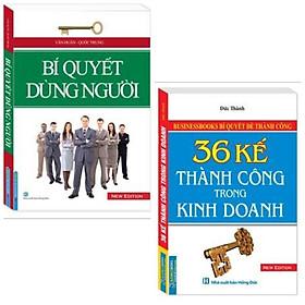 Combo sách kỹ năng kinh tế: Bí Quyết Dùng Người+ Businessbooks Bí Quyết Để Thành Công - 36 Kế Thành Công Trong Kinh Doanh