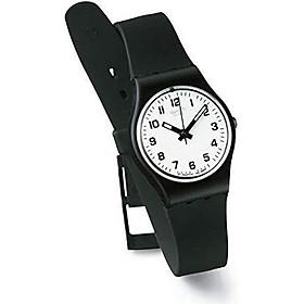 Swatch Women's LB153 Something New Black Plastic Watch