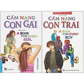 Combo 2 Cuốn Sách: Cẩm Nang Con Trai + Cẩm Nang Con Gái