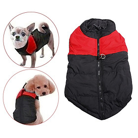Pet Down Jacket Dog Coat Wateproof Winter Warm Padded Puppy Clothes Vest Apparel, 5 Sizes Available