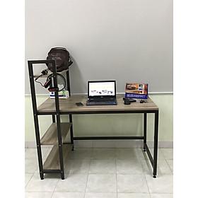 Bàn học, bàn làm việc liền kệ sách