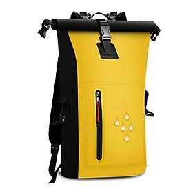 Waterproof Backpacks Waterproof Bag PVC Double Shoulder Waterproof Bag with Reflective Waterproof Barrels Pack Fishing