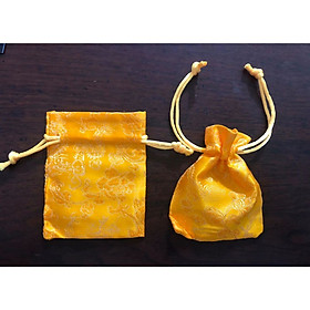 Lốc 10 túi Long Phụng màu vàng, rước tài lộc, đem lại may mắn phù hợp làm quà tặng - PCCB MINGT