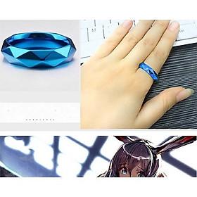 Quà tặng nhẫn kim loại phong cách anime Arknights