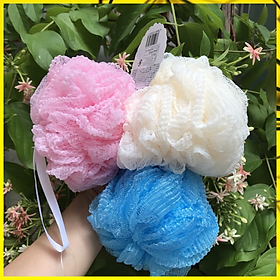 Bông tắm tạo bọt sợi nhựa mềm mại tạo nhiều bọt (1 cái)