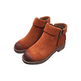 Giày Boot Nữ GB56BR - Nâu