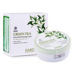 Kem Mát xa Dabo Green Tea Massage Cream 200ml