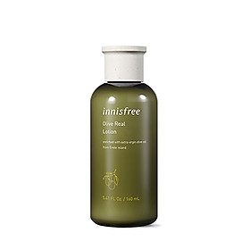 Sữa dưỡng chiết xuất Olive Innisfree Olive Real Lotion 160ml