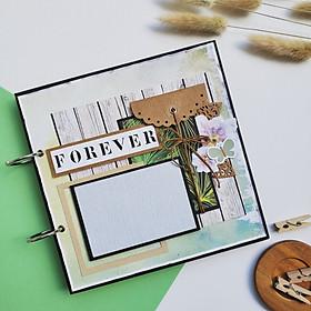 Scrapbook Forever Tone Xanh