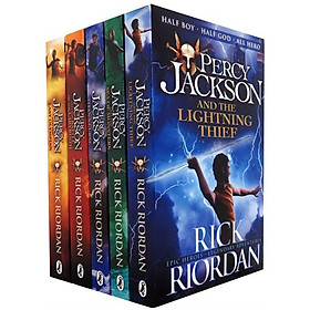 Percy Jackson Collection 5 Books Set