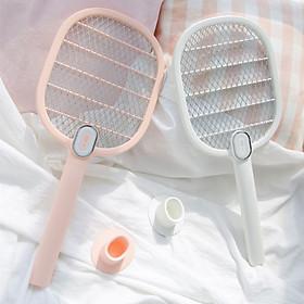 Vợt bắt muỗi cao cấp cầm tay sạc pin usb không giật - Vợt muỗi cao cấp hàng chuẩn xịn