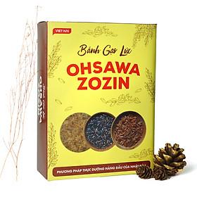 Bánh quy gạo lứt Ohsawa Zozin - Thực dưỡng Ohsawa Nhật Bản (125g)