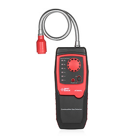 Portable Propane Methane and Natural Gas Leak Detector Combustible Gas Tester Meter Sniffer with Sound Light Alarm