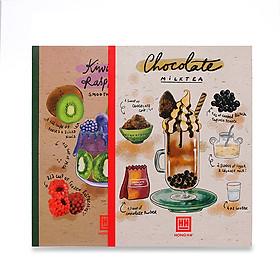 Vở kẻ ngang 200 trang Study Cocktail 1429 (5 quyển)