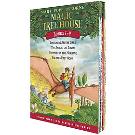 Magic Tree House Books 1 - 4 (Boxed Set)