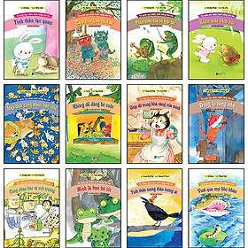 Combo 12 Cuốn: Tủ Sách Rèn Nhân Cách Sống Cho Trẻ