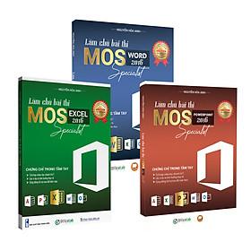 Combo Khóa ôn thi chứng chỉ MOS 3 môn Word, Excel, PowerPoint