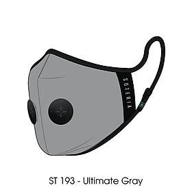 Khẩu trang thời trang cao cấp Soteria Ultimate Gray ST193 - Khẩu trang vải than hoạt tính [size S,M,L] Van đen