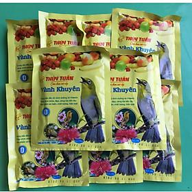 (Combo 5 gói) Cám chim Thúy Tuấn - Thức ăn dành cho các loại chim cảnh