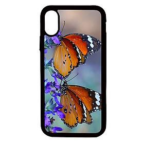 Ốp lưng cho điện thoại Iphone Xs Max Đôi bướm - Hàng chính hãng