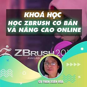 Khóa học THIẾT KẾ - ĐỒ HỌA - Học Zbrush cơ bản và nâng cao online