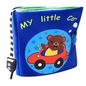 Đồ chơi - Cuốn sách vải an toàn giúp bé hiểu các quy tắc giao thông My Little Car