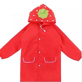 Áo mưa trẻ em xuất Nhật cho bé 2-7 tuổi chất poly dày dặn không thấm nước hình thú vui nhộn đủ màu sắc xinh xắn – AM001